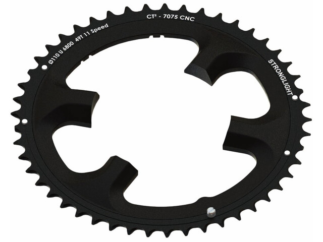 STRONGLIGHT Ultegra Kettingblad buiten 11-speed ct², black